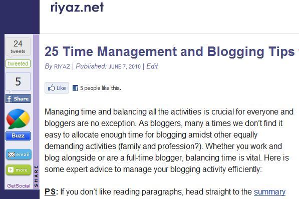 Plugin para compartir contenido en Wordpress