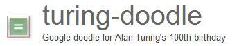 Google libera el código del Doodle de Turing