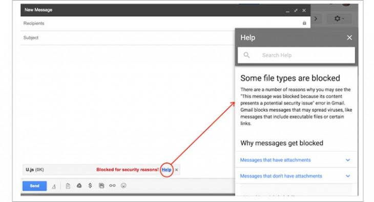 gmail javascript
